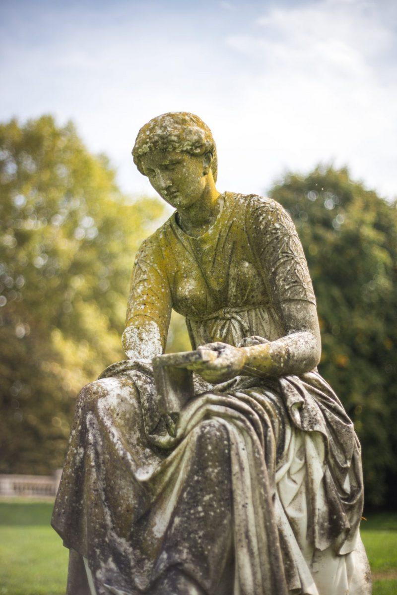 Statue dans le Parc Chavat à Podensac© David Remazeilles (Gironde Tourisme)