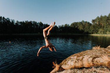 Défi : se baigner partout en Gironde !