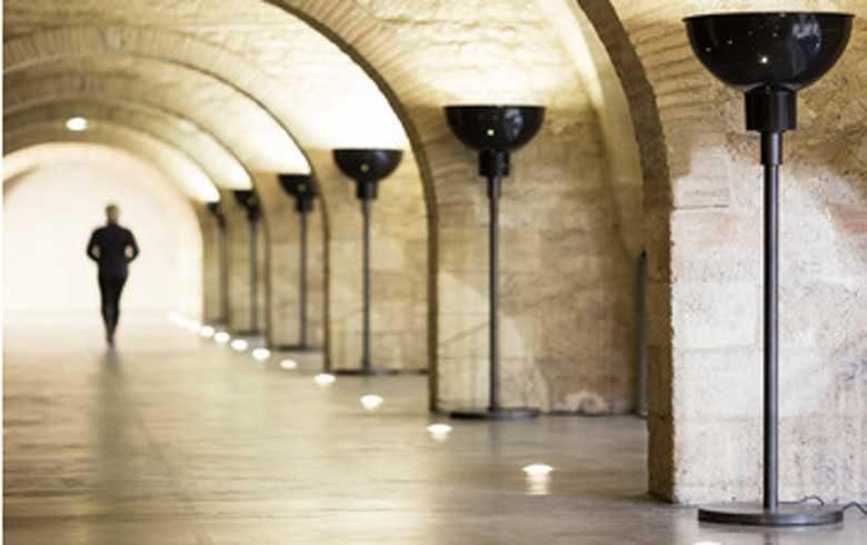 Lampadaire-Mezzanine CAPC-photo-ArthurPequin2015-red-w2