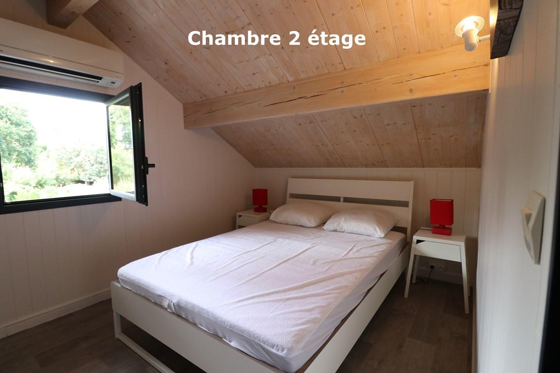 12.Chambre 2 étage – CHALET HARMONY