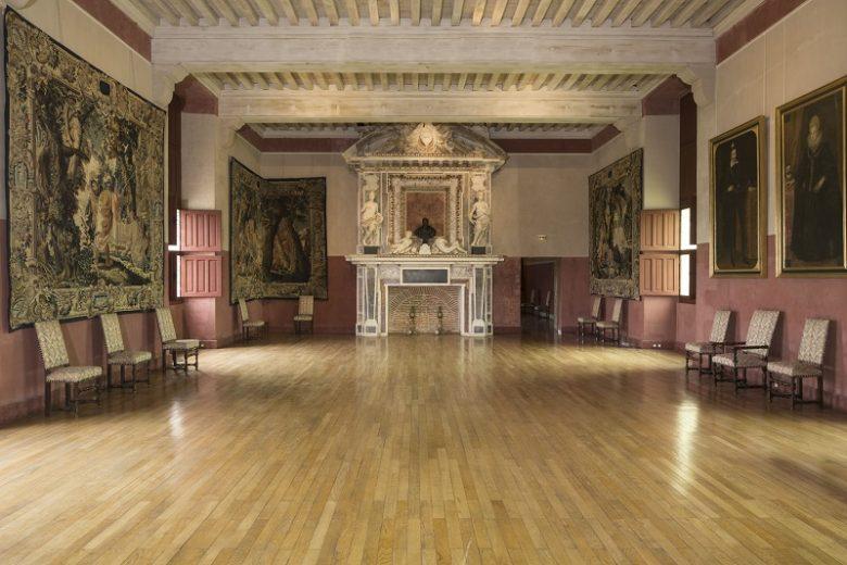 Château des ducs d'Épernon, appartement du Roi, salle du Roi