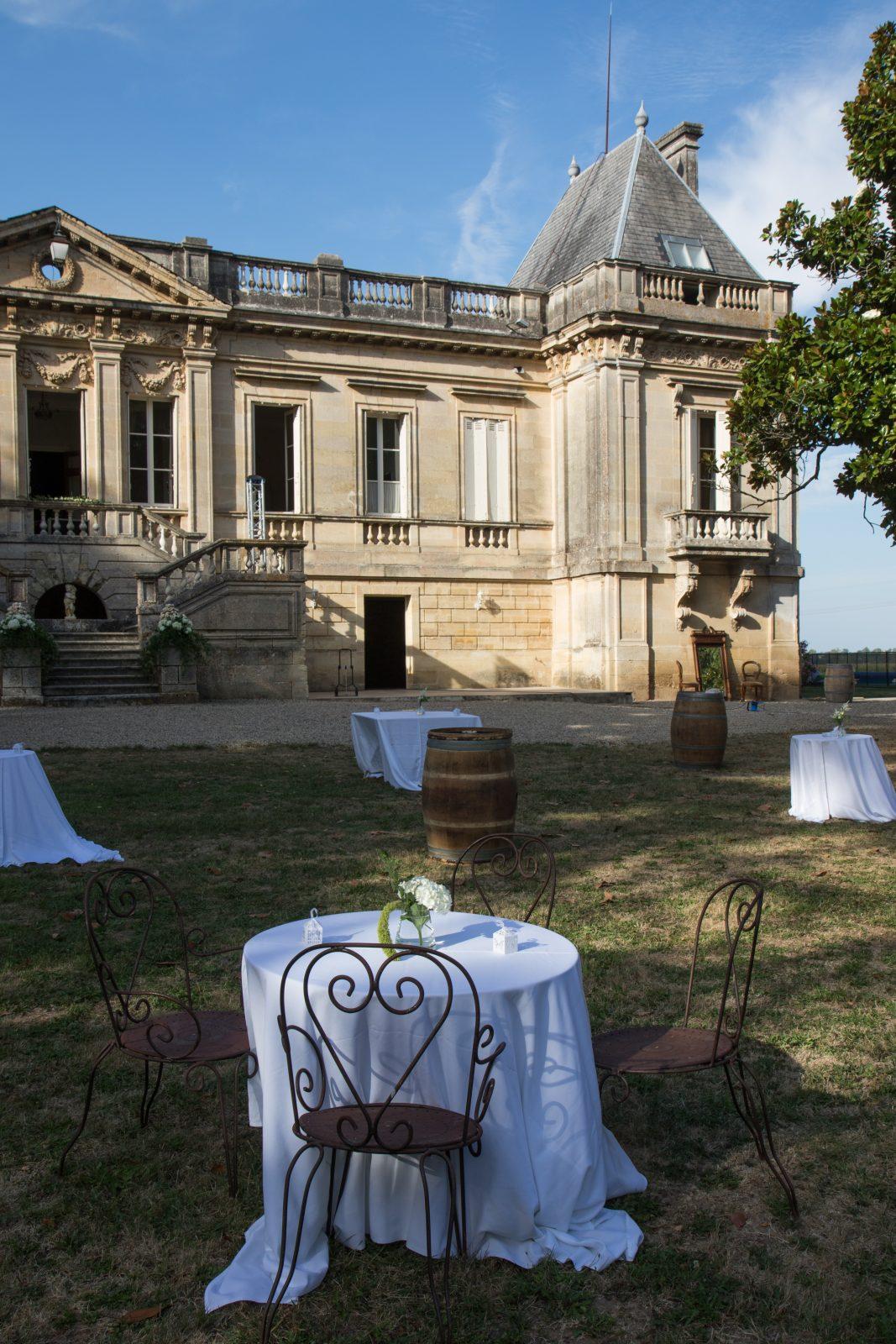 Château Couffins – déjeuner parc