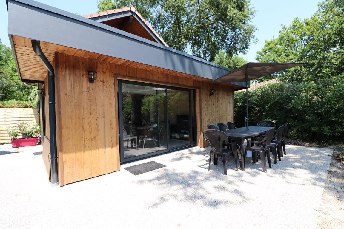 2.Façade terrasse – CHALET HARMONY