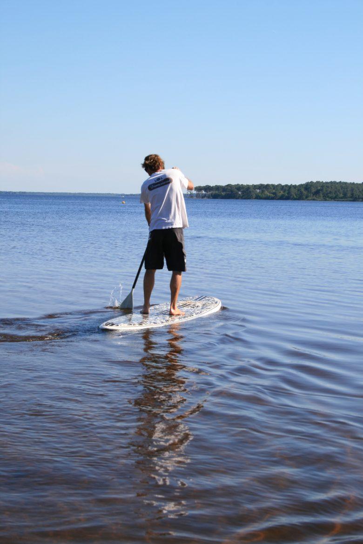 Activité Nautique Cris Loisirs Stand Up Kayak Lacanau