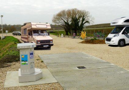 Aire de camping-cars de Capian