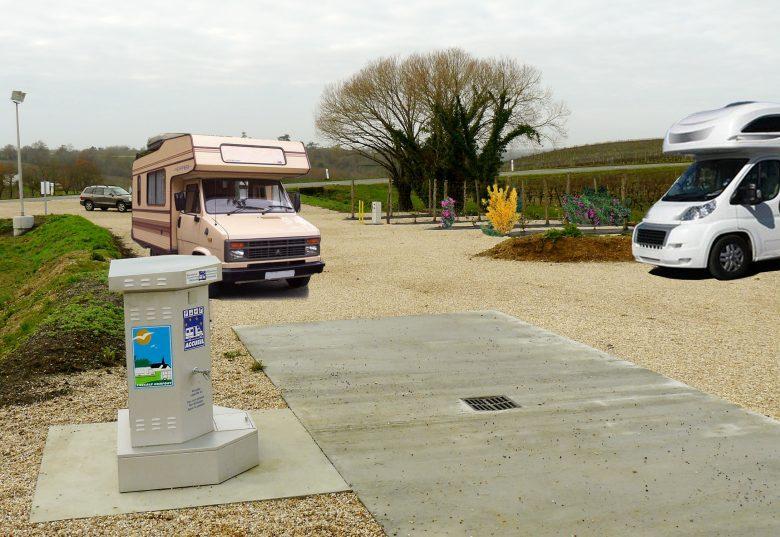 Aire camping car capian
