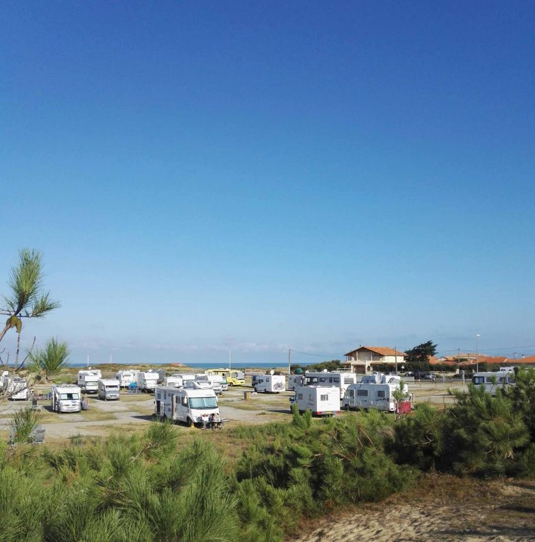 Aire camping-cars Montalivet