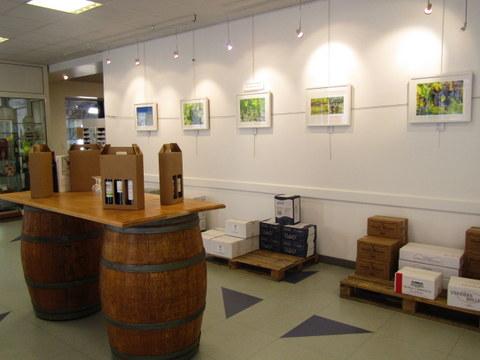 Barriques Maison des Vins Ste Foy Côtes de Bordeaux