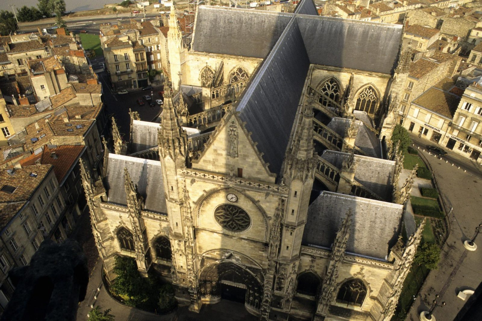 Basilique Saint Michel vue du ciel
