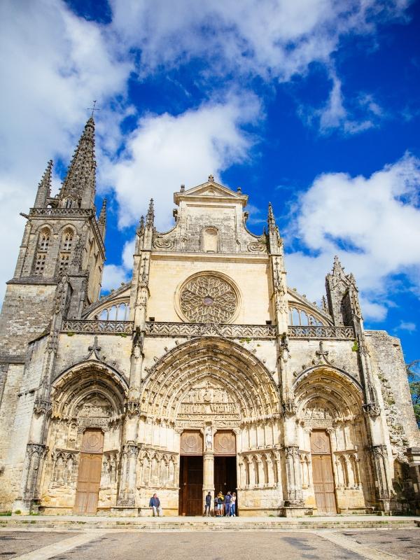Bazas – cathédrale façade