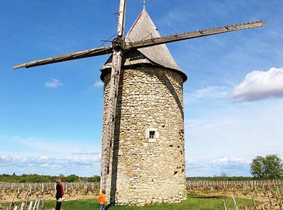 Moulin à vent de Courrian