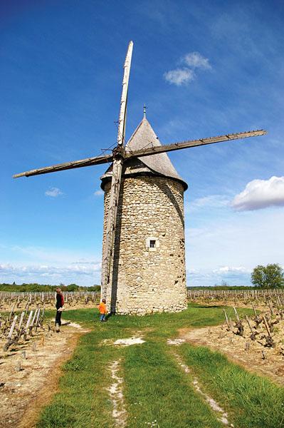 Blaignan – Moulin à vent de Courrian