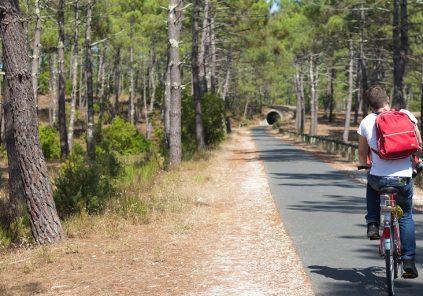 De Bordeaux à Lacanau à vélo – De la ville à la plage