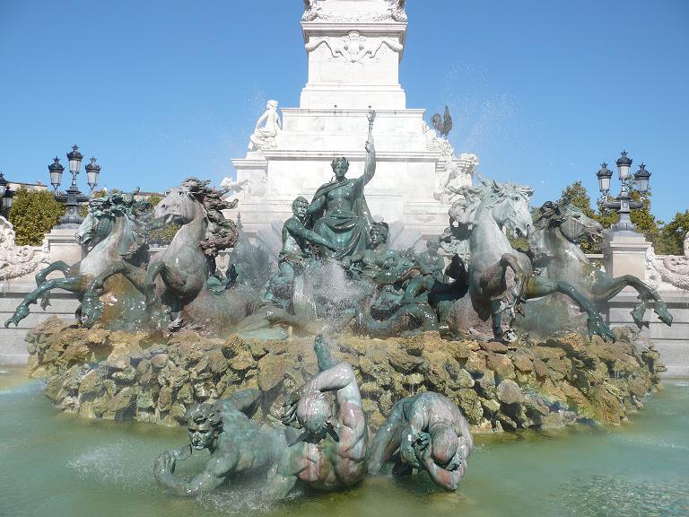 Bordeaux – Monument aux Girondins