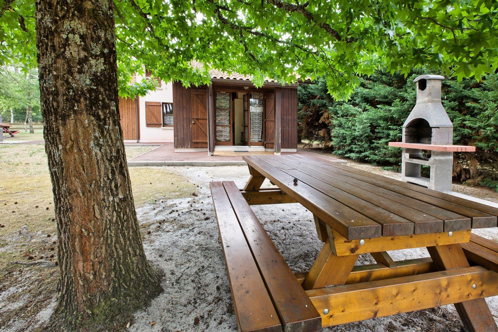 Gîte forestier – BOURIDEYS – Sud-Gironde