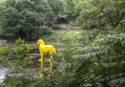 La Forêt d'Art Contemporain : Une Rencontre. La Métis, le Même et l'Autre, oeuvre n°13