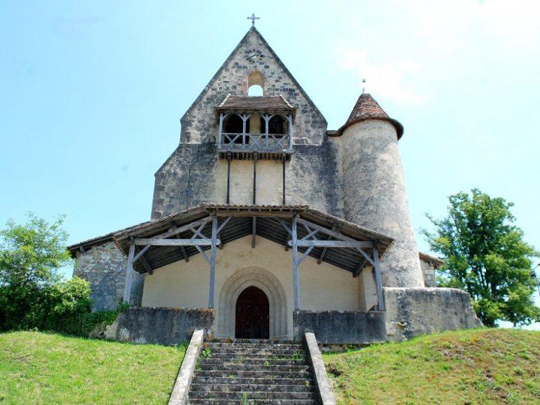 Goualade – église