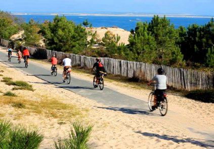 La Vélodyssée – De Lacanau océan à Arcachon