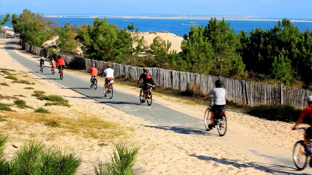 Vélodyssée – Bassin aux Landes