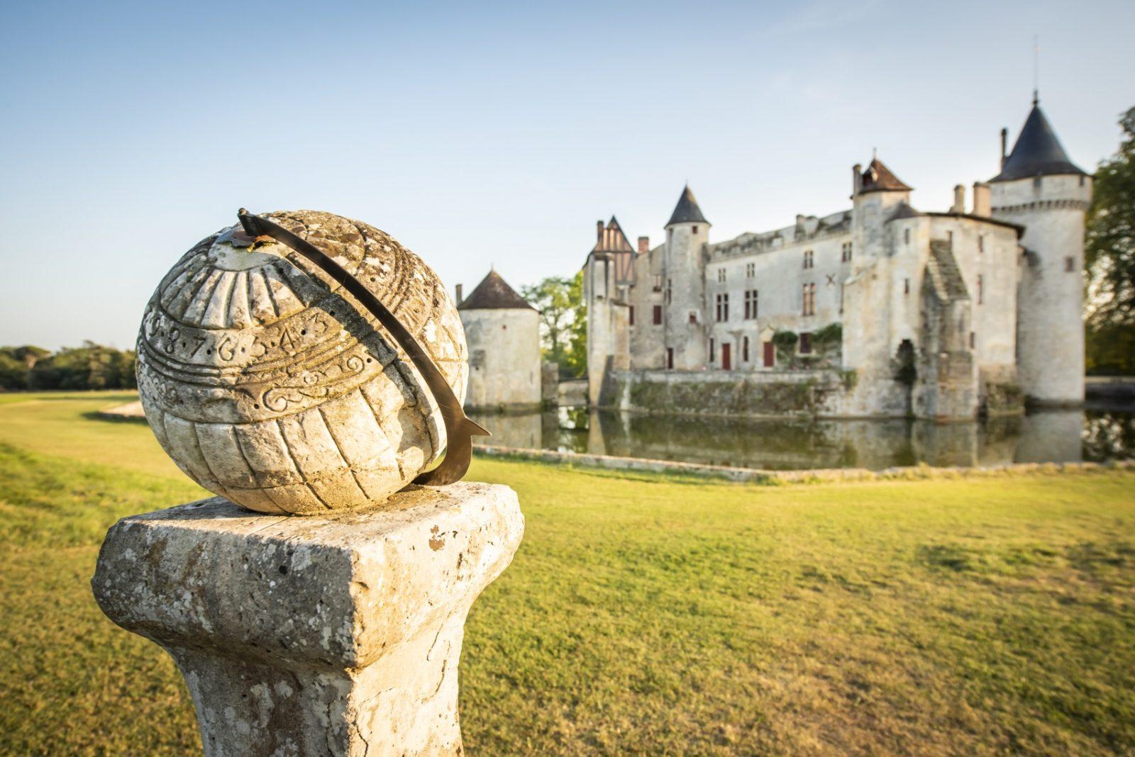 Cadran solaire ®ANAKA-Château de LA Brède