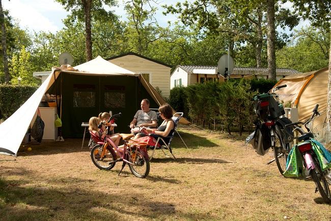 Camping La canadienne – Famille – Arès – Bassin d'Arcachon ©La canadienne