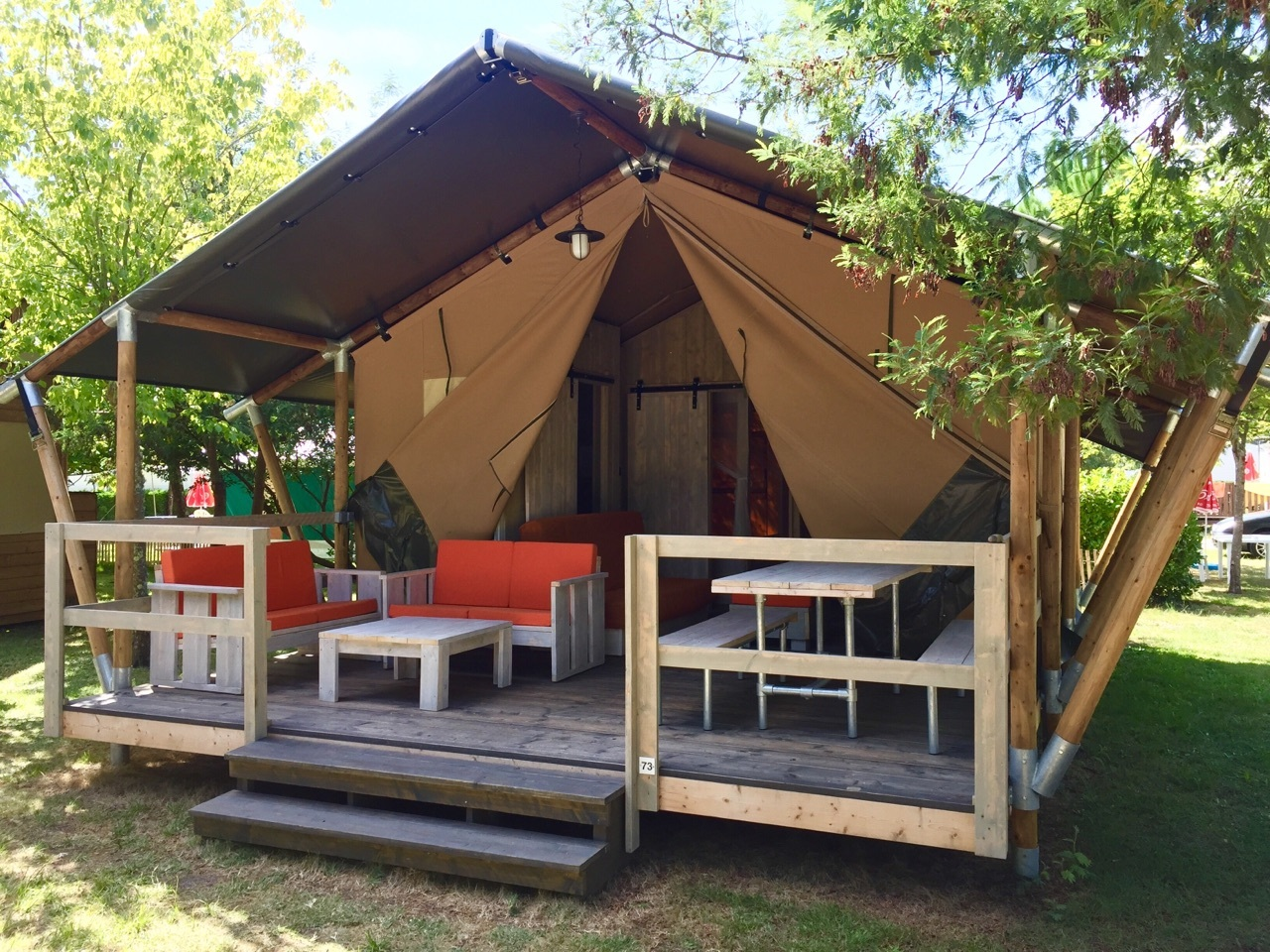 tarif camping toile de tente hourtin