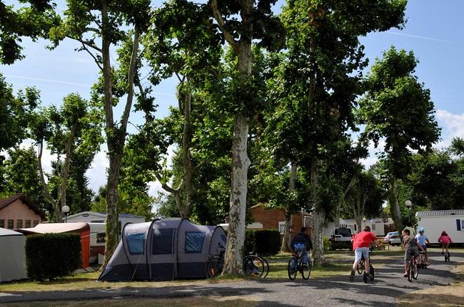 Camping Les Abberts – nature – famille – Arès ©Les abberts –