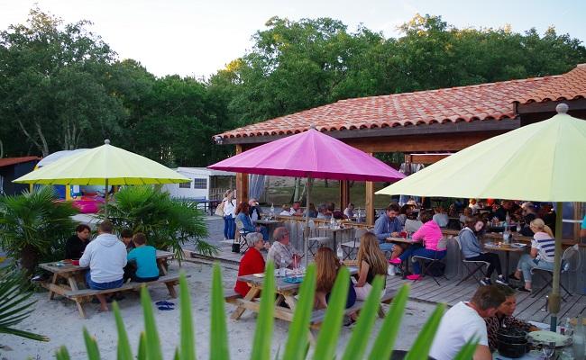 Camping Les goélands restaurant – Arès – Bassin d'Arcachon ©Les goélands