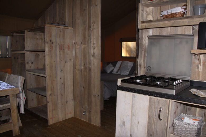 Camping-Lodging du lac- Lacanau-intérieur
