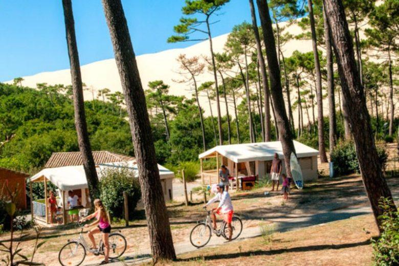 Camping la forêt – tente équipée