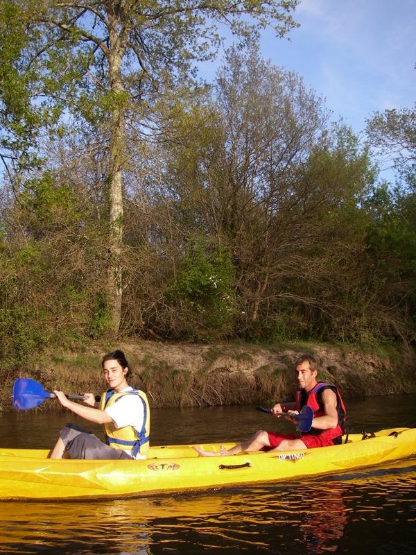 Canoë sur L'Eyre- Amazone Le Teich
