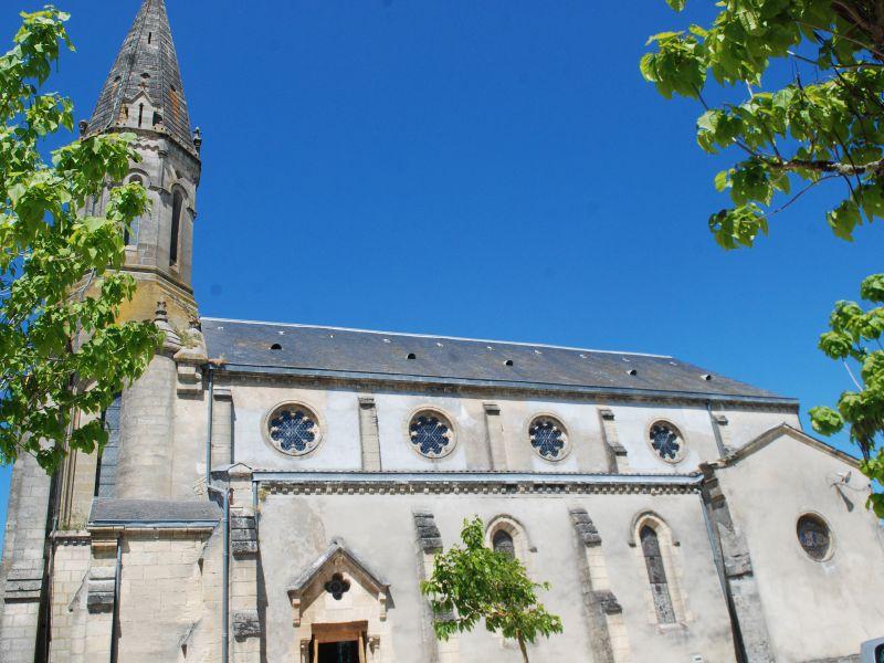 Captieux – église – ph Elodie F (1)