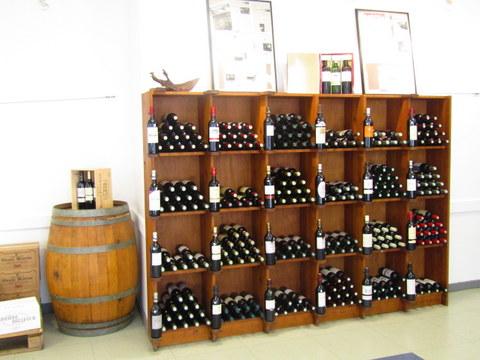 Casier Vins Maison des Vins Ste Foy Côtes de Bordeaux
