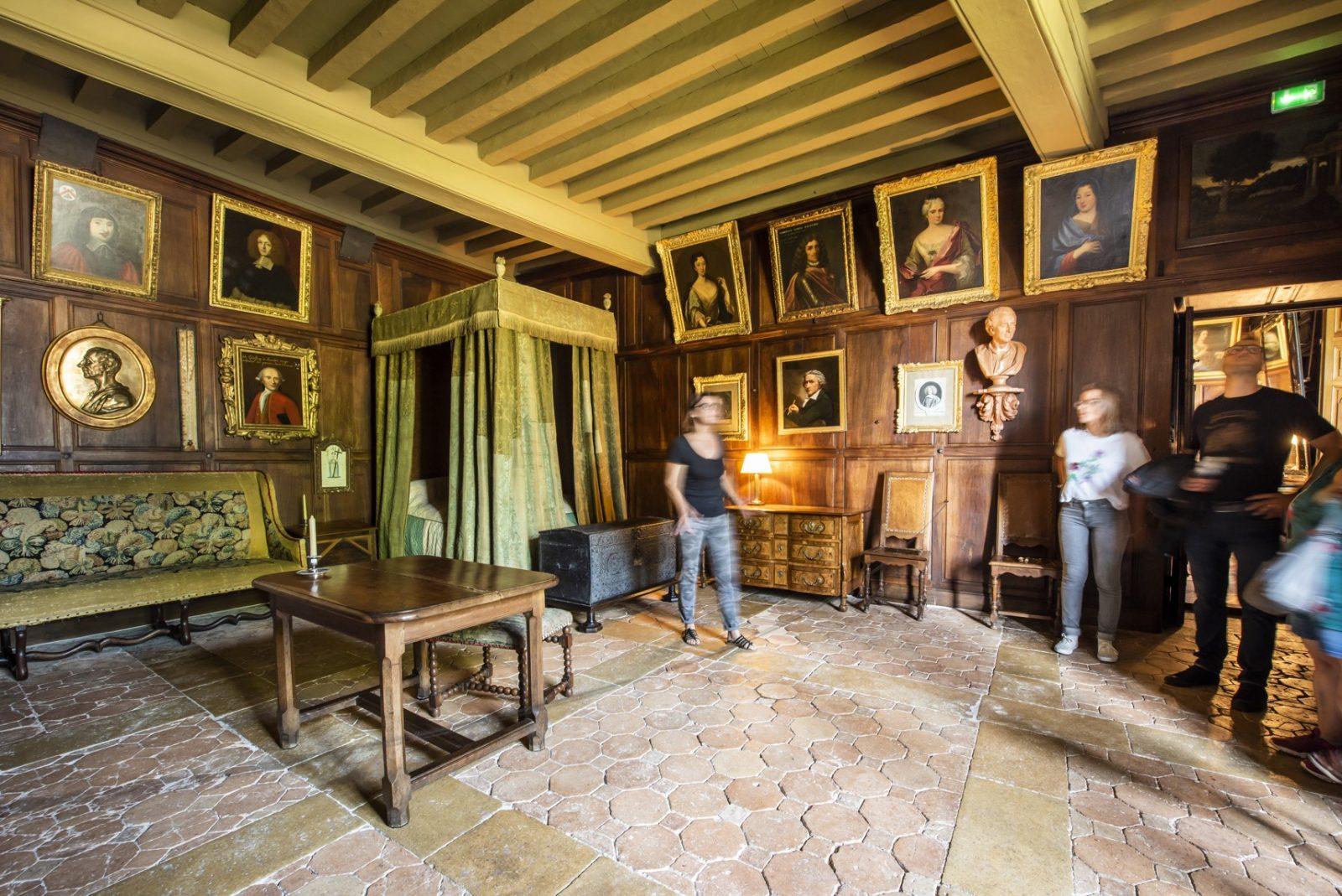 Chambre de Montesquieu ®ANAKA- Château de La Brède