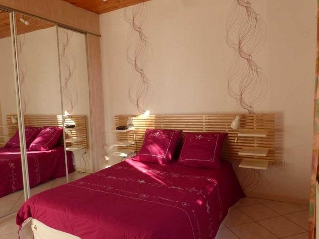 Chambre-double—location-vacances—Ares–M-Gueret–