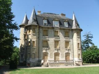 Destination Garonne, Parc Chavat, Podensac, le Château