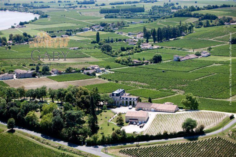 Château-Gaby-Canon-Fronsac-vue-du-ciel