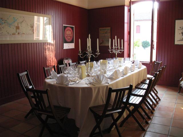 Château Giscours Salon Ecuries