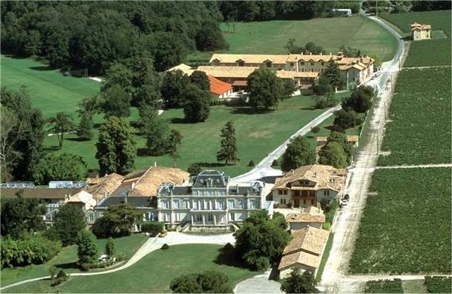 Château Giscours Vue aérienne