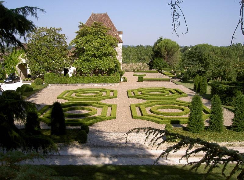 Château Pierrail jardins 1