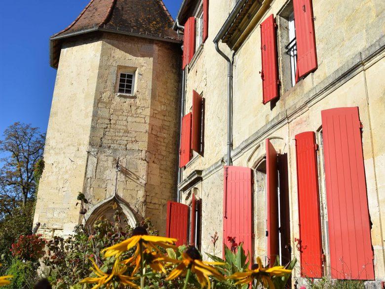 Château Robillard St André de Cubzac 800×600 jardin