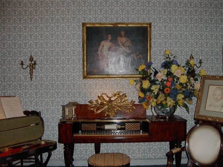 Château de Mongenan – Salon de musique
