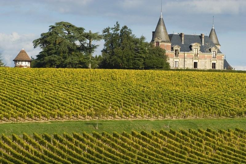 Château de Rayne Vigneau BOMMES Sud-Gironde