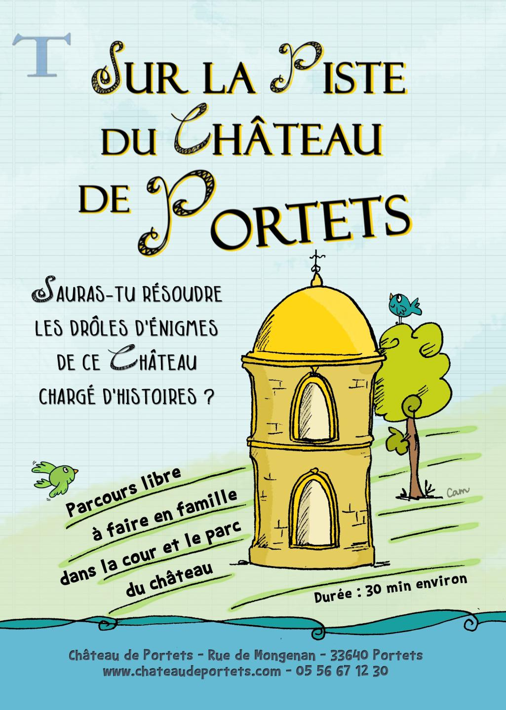 Destination Garonne, Château de Portets, Portets