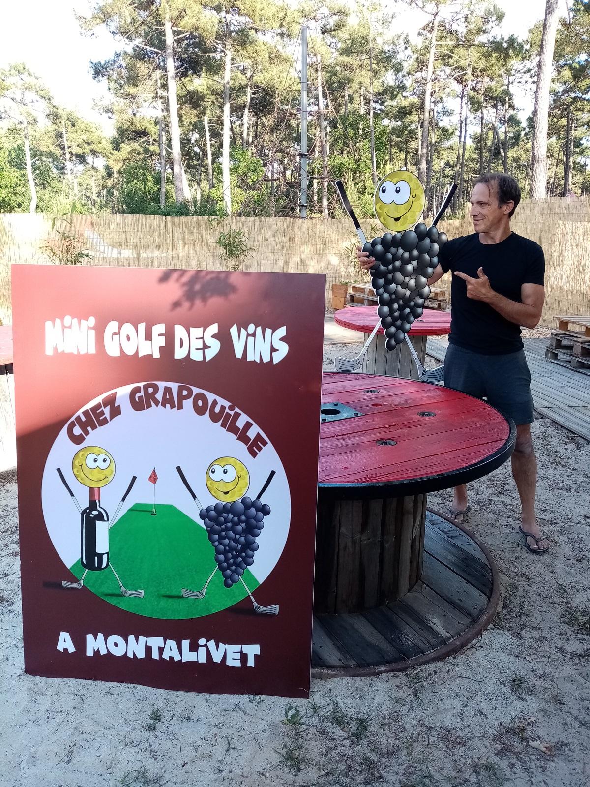 Chez Grapouille Mini Golf des Vins 3