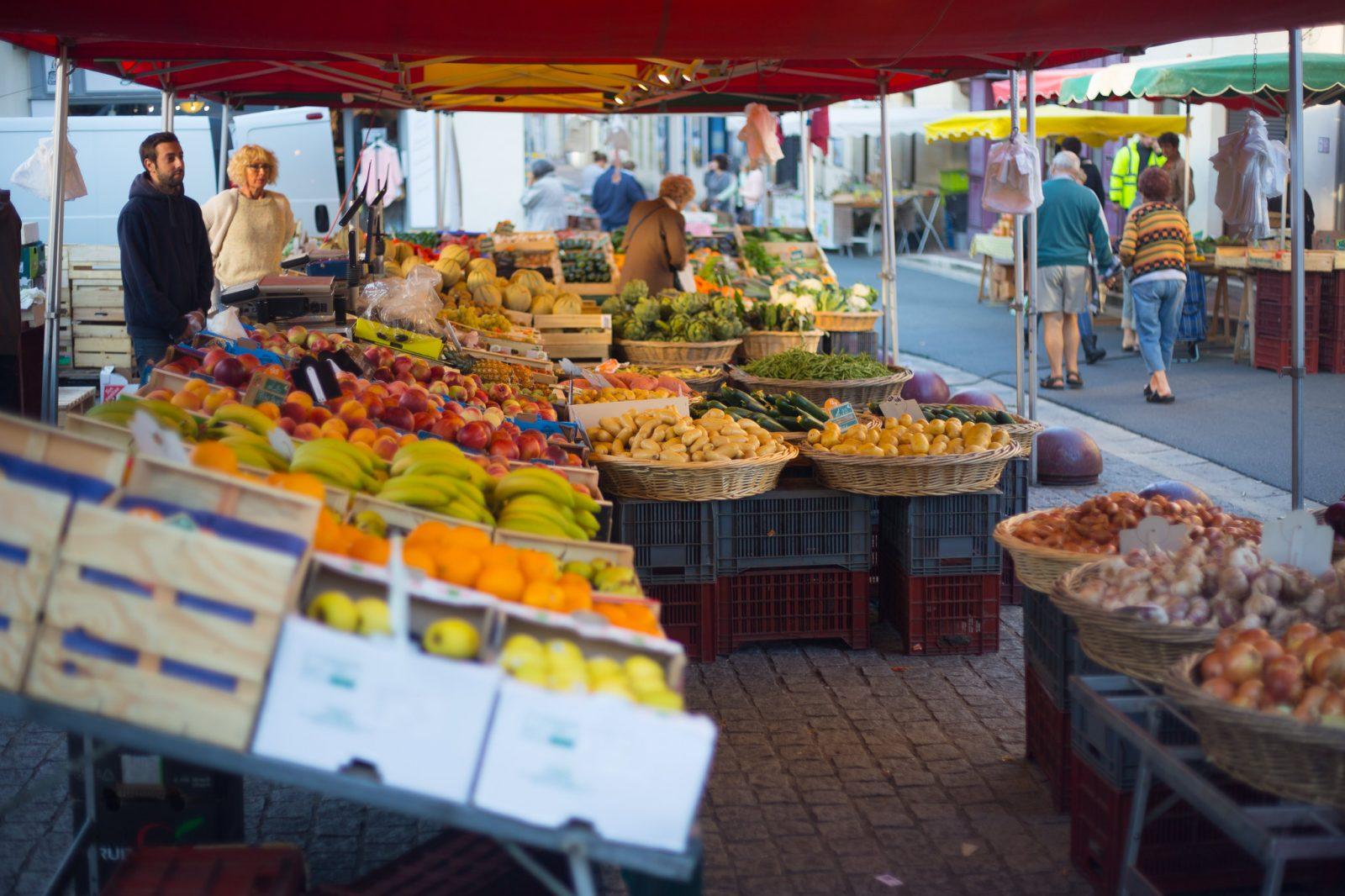 Créon marché© David Remazeilles (Gironde Tourisme)