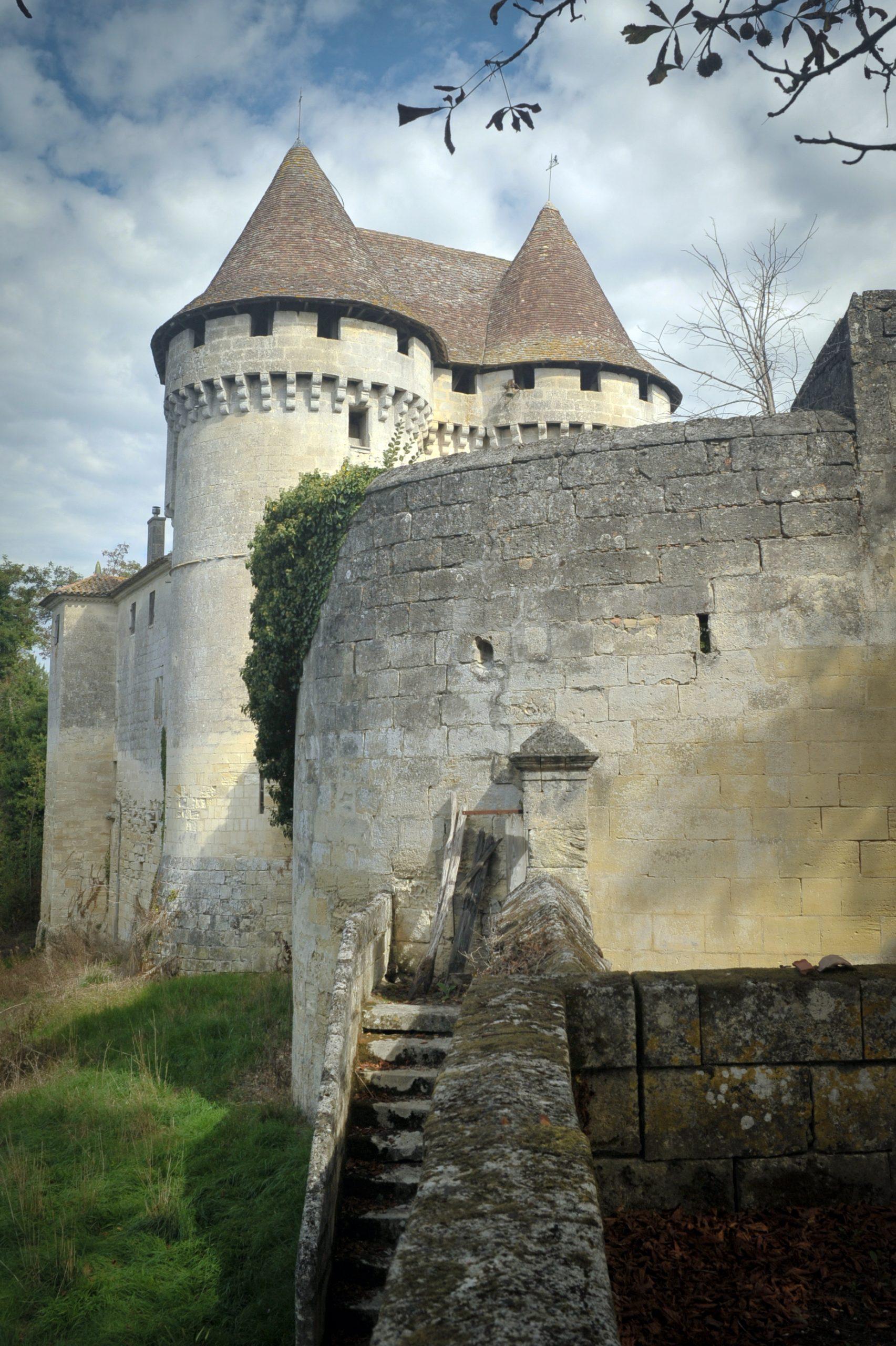 DAIGNAC – Grand château de Pressac 2