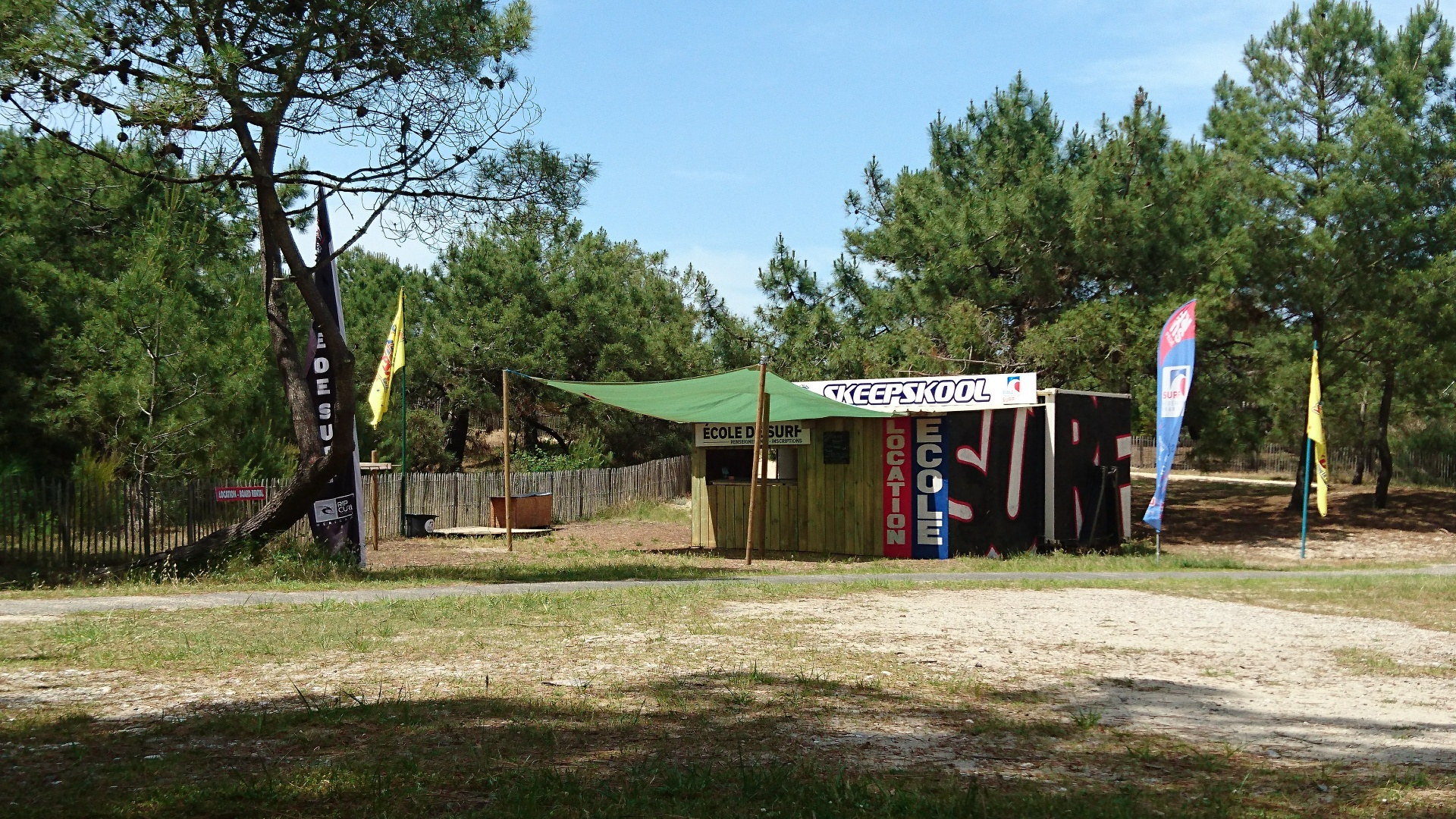 Ecole de surf Skeepskool