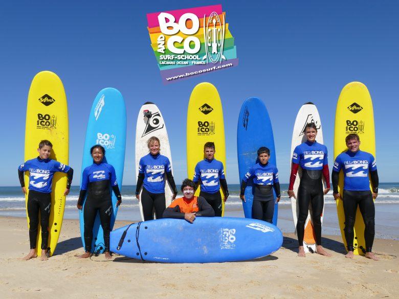 Ecole de surf-Bo&Co-Lacanau