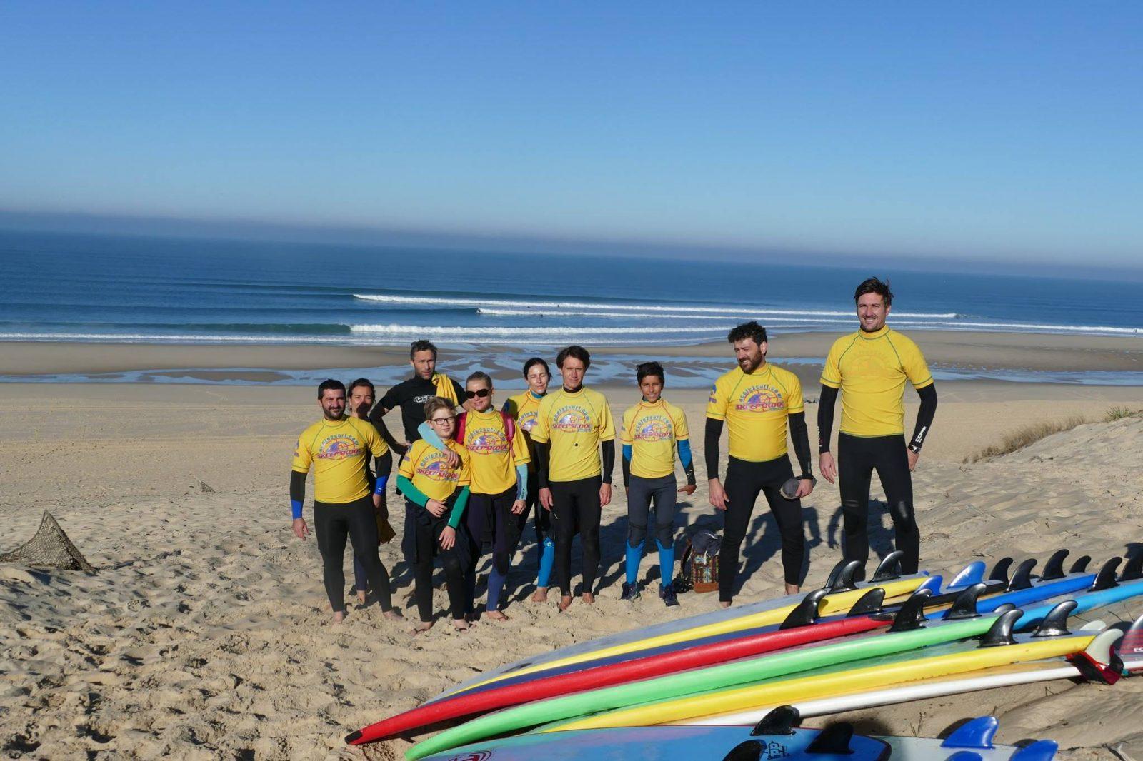 Ecole de surf Le Porge